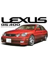Aoshima #56 Lexus GS400 98 Left Hand Drive 1/24 Model Kit