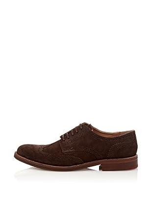Merc Zapatos Oxford Aldwych (Marrón Oscuro)