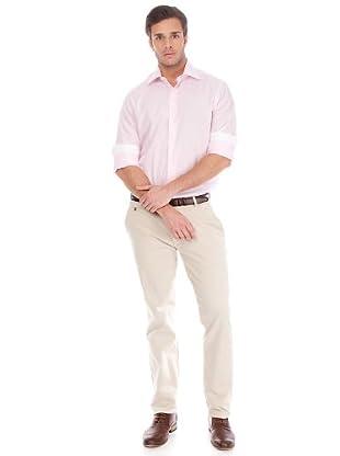 Arrow Camisa Kent (azul claro / rosa)