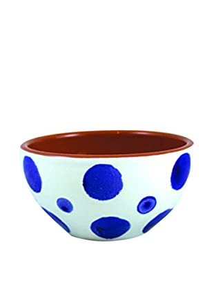 Canvas Home Spongeware Nut Bowl, Blue/White