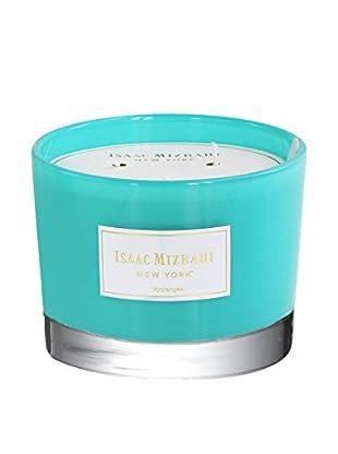 Isaac Mizrahi Hydrangea Scented 3-Wick Jar Candle, Blue