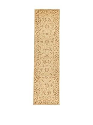 Design Community By Loomier Teppich Ozbeki Ziegler A beige 79 x 295 cm