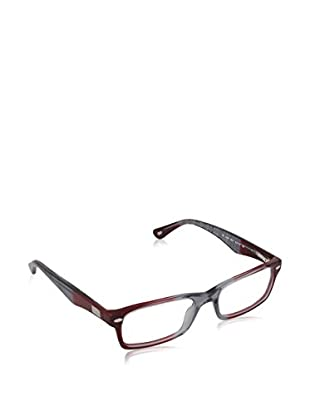 Ray-Ban Montura 5206 (52 mm) Granate / Gris
