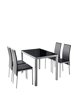 KITCHEN FURNITURE & DECO HOME Küchentisch schwarz