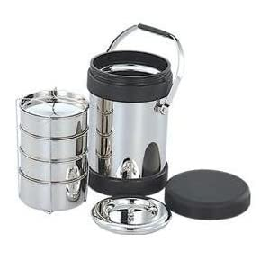 Anupam Deluxe Hot Tiffin, 3-Pieces