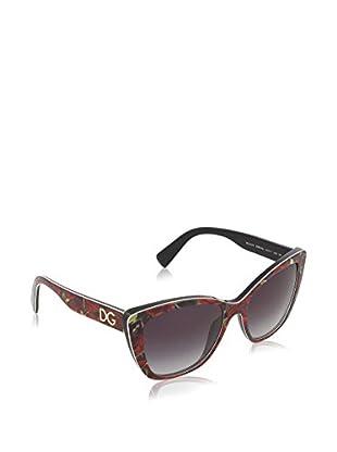 DOLCE & GABBANA Sonnenbrille 4216_29388G (55 mm) rot/schwarz