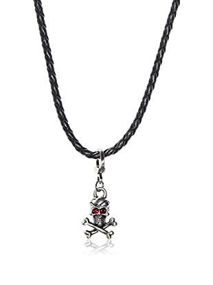 Link Up Skull and Cross Bones Necklace