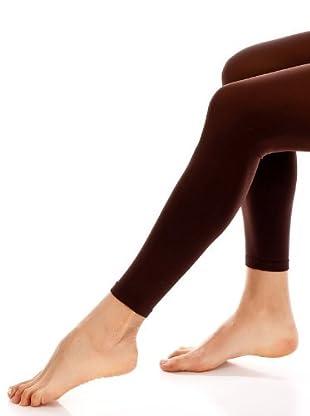 DIM Legging Opaque Veloute Opaco (Chocolate)