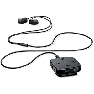 Nokia BH-221 Clip-on Stereo In-ear Headphone with Mic (Black)