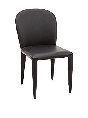 Contemporary Home Set Silla 2 Uds. Lovely Negro