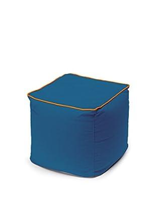13 Casa Pouf Moderno blau