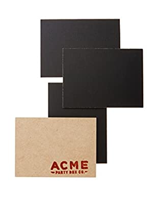 ACME Party Box Set of 4 Chalkboard Place Cards