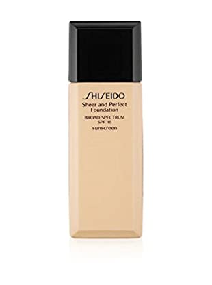 Shiseido Fondotinta Liquido Sheer and Perfect I60 15 SPF 30 ml