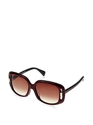 Alexander McQueen Gafas de Sol AMQ4237/F/S (55 mm) Burdeos