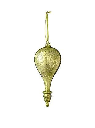 Sage & Co. Glass Bulb Teardrop Ornament