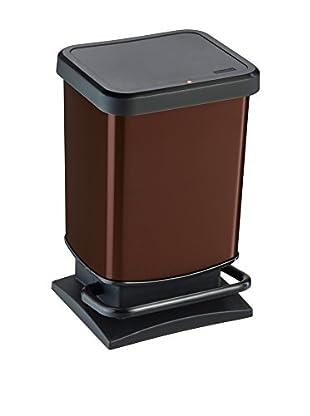 Rotho Cubo De Basura Paso 20 L Marrón