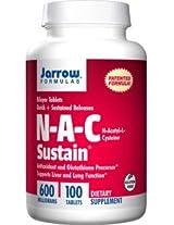Jarrow Formulas, N-Acetyl Cysteine (NAC), 600 mg, 100 SR Tablets