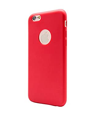 UNOTEC Funda Second Skin iPhone 6/6S Rojo