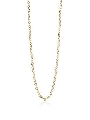 Elizabeth and James Gold-Plated Bauhaus Spike Station Chain Necklace