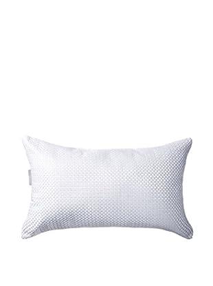 Kas Pixil Pillow, White