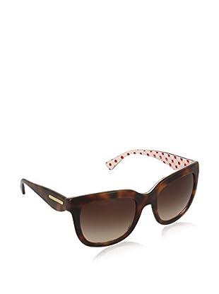 Dolce & Gabbana Sonnenbrille 4197_287213 (53 mm) havana
