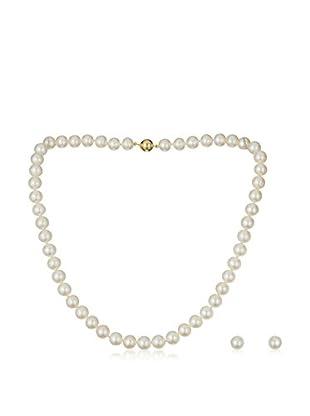 United Pearl Set collana e orecchini