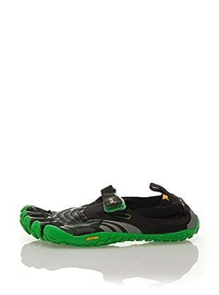 Vibram Fivefingers Zapatillas M4582 Spyridon (Negro / Verde)
