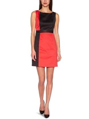 Manoukian Vestido Alejandría (Rojo / Negro)