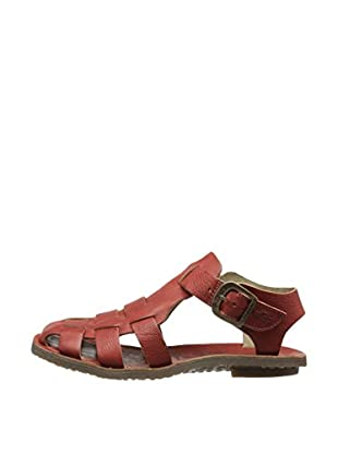 Fly London Sandalias Bow Gladiator (Rojo)