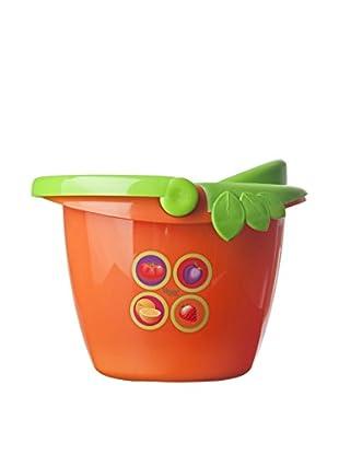 VIGAR Cubo De Fregona Juice Kids Naranja
