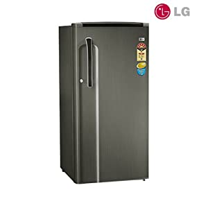 LG 190L 5 Star GL-205KMG5 Single Door Refrigerator-Mulitcolor- Burgundy Blaze