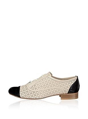 Fersengold Zapatos Derby Hong Kong (Crudo / Negro)