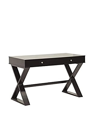 Baxton Studio Ottwell Modern Desk, Dark Brown