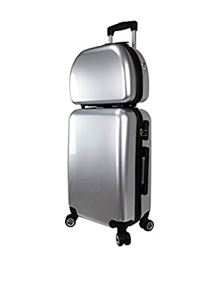 ZIFEL Set Trolley Rigido e Beauty Case TB653