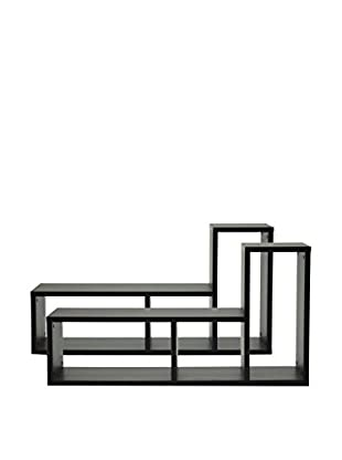 Baxton Studio Tillman Display Bookshelf, Espresso