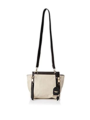 POVERTY FLATS by rian Women's Double Strap Shoulder Bag, Cement