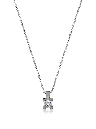 Divas Diamond Set catenina e pendente Solitaire Diamond