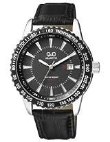 Q&Q Regular Analog Black Dial Men's Watch - A450J302Y