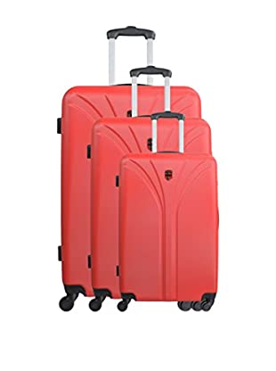 GEOGRAPHICAL NORWAY Set de 3 trolleys rígidos Scarface