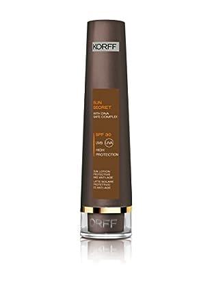 KORFF MILANO Schützende Sonnenmilch Anti-Aging SPF 30 100 ml, Preis/100ml: 15,95 EUR