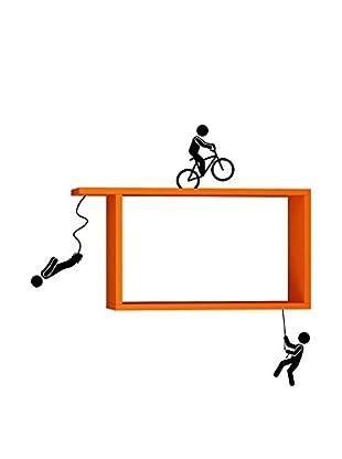 Matte Maison  Regalbrett Sportmen orange