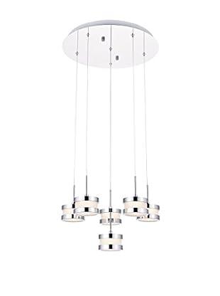 Light&Design Lámpara De Suspensión Vera Plateado