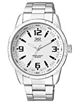 Q&Q Regular Analog White Dial Men's Watch - Q888J204Y