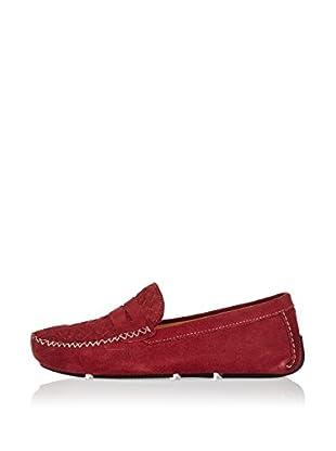 Divarese Mocasines Max (Rojo Oscuro)