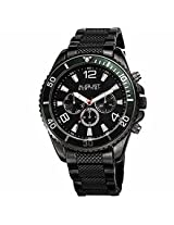 August Steiner Black Mens Watch As8119Bk