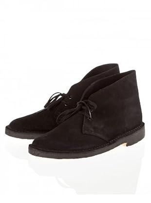Clarks Desert Boot (Schwarz (Black Suede))