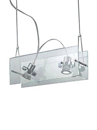 Linea Light Pendelleuchte Orbis 2 kristall/chrom