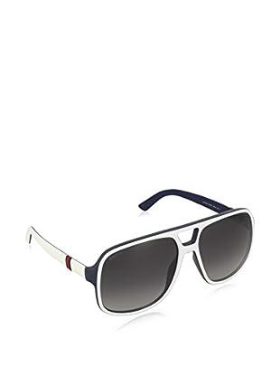 GUCCI Sonnenbrille 1115/S 9O M24 (59 mm) weiß/marine
