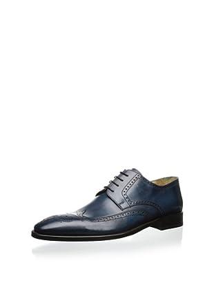 Dino Bigioni Men's Wingtip Oxford (Soft Blue)