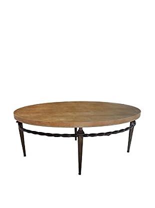 Donny Osmond Home Table, Brown/Black